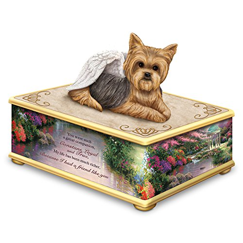 Thomas Kinkade Jewelry (Thomas Kinkade Forever My Friend Yorkie Keepsake Box by The Hamilton Collection)