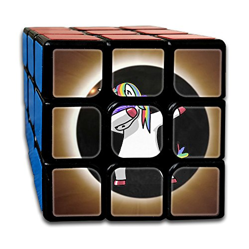 Price comparison product image Dabbing Solar Eclipse Unicorn 3x3 Smooth Speed Magic Rubiks Cube Puzzle Cube Puzzles Toys
