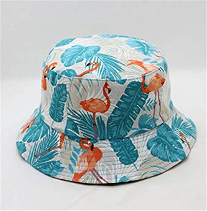 fd4f3a4c0c502 Image Unavailable. Image not available for. Color  Best Quality Hah  Flamingo Animal Print Bucket Hat Fisherman ...