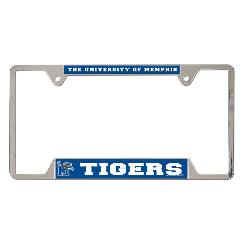 Wincraft NCAA University of Memphis Metal License Plate Frame 75884014