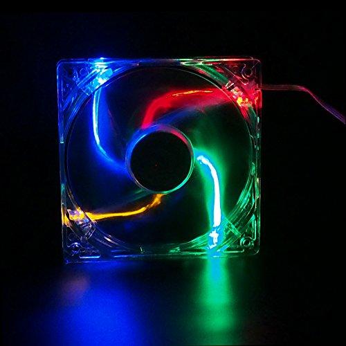 Ventilador Autolizer Sleeve Bearing 80mm  Multi-Color RGB Qu