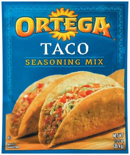 (Ortega Taco Seasoning Mix 1.25 oz (Pack of 24))
