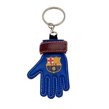 Llavero Forma Guante Jugador FC Barcelona: Amazon.es ...