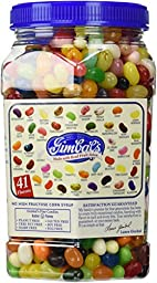 Gimbal\'s Fine Candies Gourmet Jelly Beans, 41 Flavors, 40-Ounce Jar