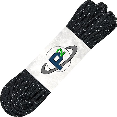 paracord-planet-mil-spec-commercial-grade-550lb-type-iii-nylon-paracord-100-feet-reflective-black