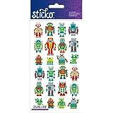 Sticko Classic Mini Robots Stickers