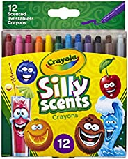 Crayola Silly Scents Twistables Crayons, Sweet Scented Crayons, Gift, 12Count, Multicolor (52-9612)