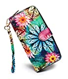 LoveShe Women's Bohemian Style Purse Clutch Bag Card Holder (17YZ28)