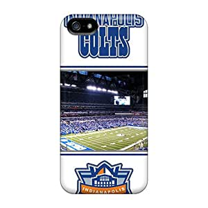 Durable Hard Phone Cases For Iphone 5/5s (RZa10910EZYY) Customized High-definition Indianapolis Colts Skin