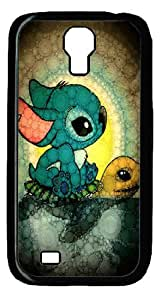Mystic Zone Classic Cartoon Lilo and Stitch Case for Samsung Galaxy S4 Hard Cover Fit Cases SGS1034