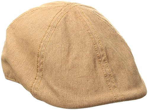 Canvas Newsboy Cap - Levi's Men's Canvas Ivy Hat,Tan,Small/Medium
