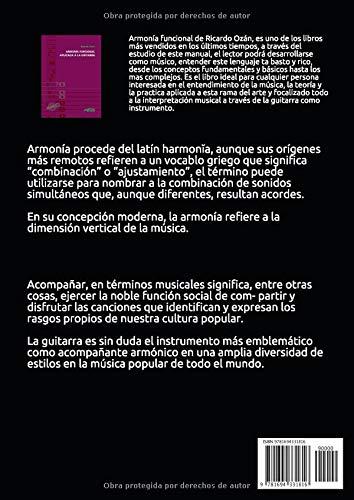 ARMONÍA FUNCIONAL APLICADA A LA GUITARRA: Amazon.es: RICARDO OZÁN ...
