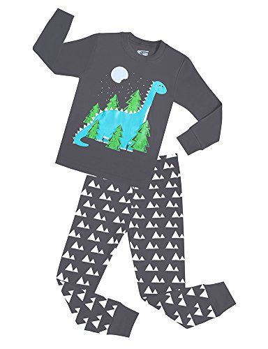 Girls Dinosaur Pajamas Cotton Clothes