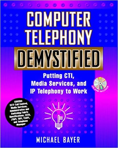 Computer Telephony Demystified