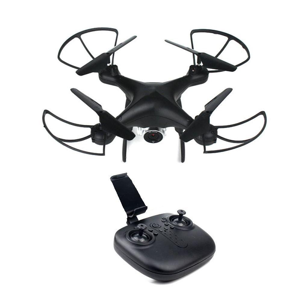 Drone Pliable RC Avec Caméra HD Quadcopter Live Vidéo Wifi FPV Télécomhommede 2.4GHz 6Axis Gyro Mode Sans Tête Altitude Hold One-Key 3D Flip,1Battery