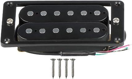 FLEOR doble bobina Humbucker para guitarra eléctrica pastilla con ...