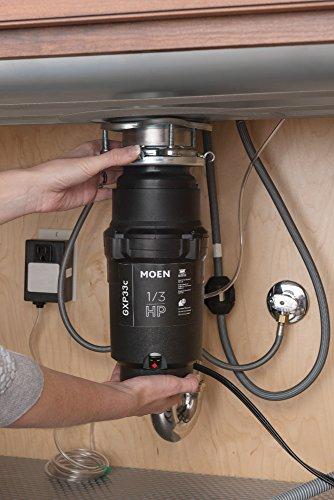 Moen GXP33C GX PRO Series 1/3 hp Garbage Disposal by Moen (Image #2)