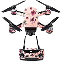 Skin for DJI Spark Mini Drone Combo - Cherry Blossom| MightySkins Protective, Durable, and Unique Vinyl Decal wrap cover | Easy To Apply, Remove, and Change Styles | Made in the USA