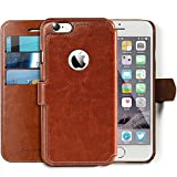 "Lockwood iPhone 6/6s PLUS Folio Wallet Case | Vintage Brown | Travel Wallet With Card Holder | Ultra Slim & Lightweight Design | Classic Cases for Modern Devices | (5.5"" Screen) 