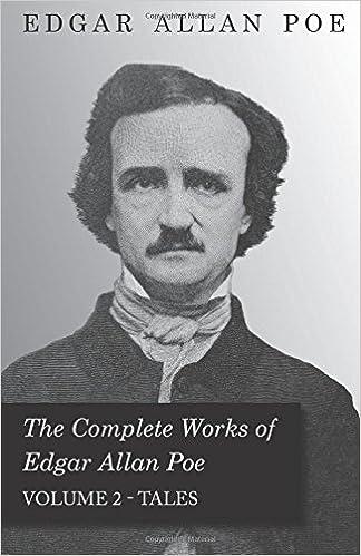 Book The Complete Works Of Edgar Allan Poe Volume 2 Tales