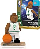 OYO NBA Boston Celtics Jayson Tatum Association Home Uniform Minifigure, Small, No Color