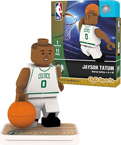 NBA Boston Celtics Jayson Tatum Association Home Uniform Minifigure, Small, No color