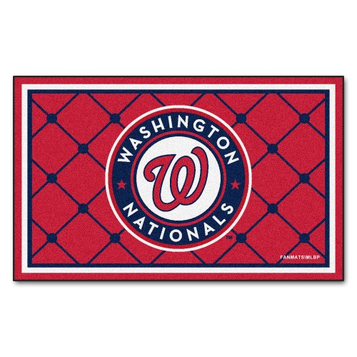 Washington Nationals Baseball Rug - 2