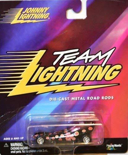 YOU GET 1 Johnny Team Lightning die cast metal road rods Pink Panther mantis