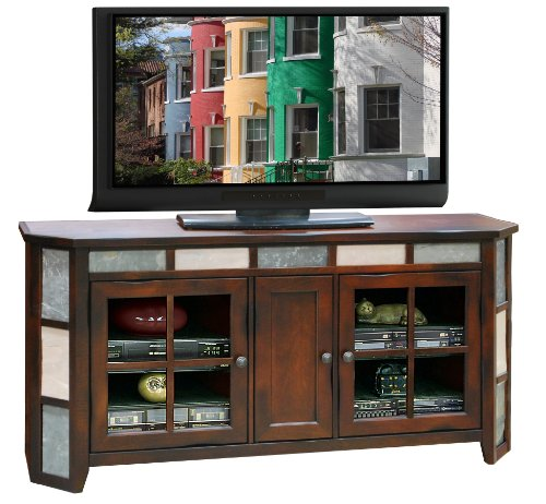 Fire Creek Angled TV Console 62