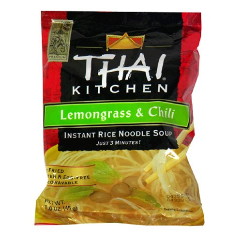 Thai Kitchen Instant Rice, Lemon Grass And Chili, 1.6-Ounce Unit (Pack of 12) Rice Grass