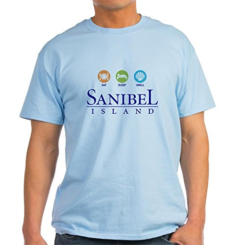 Junonias Seashell (CafePress Eat-Sleep-Shell - Light T-Shirt - 100% Cotton T-Shirt)