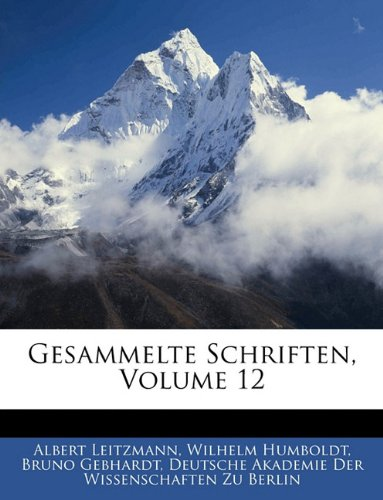 Gesammelte Schriften, Volume 12 (German Edition) pdf epub