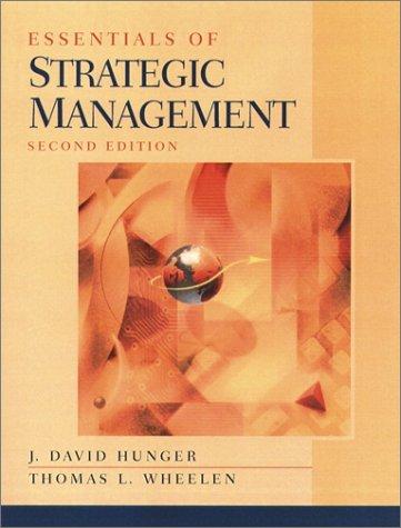 Essentials of Strategic Management (2nd Edition)