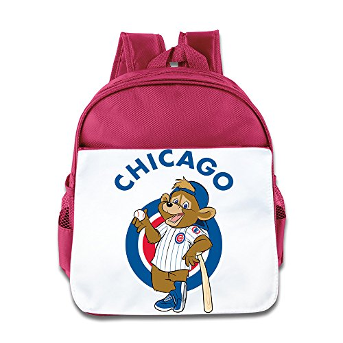 XJBD Custom Funny Chicago Baseball Bear Logo Teenager School Bagpack For 1-6 Years Old - Chicago Wholesale Sunglasses