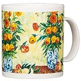 Claude Monet - Dahlias - 14oz Coffee Mug