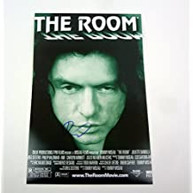 Tommy Wiseau The Disaster Artist Signed Autograph The Room Movie Poster COA