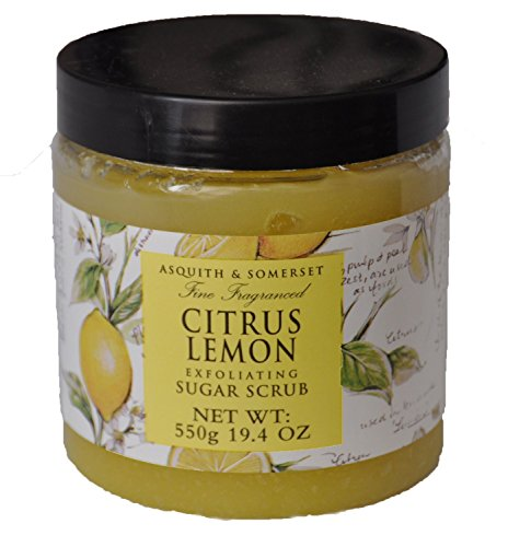Asquith & Somerset Citrus Lemon Exfoliating Sugar Scrub by Asquith & (Lemon Sugar Scrub)
