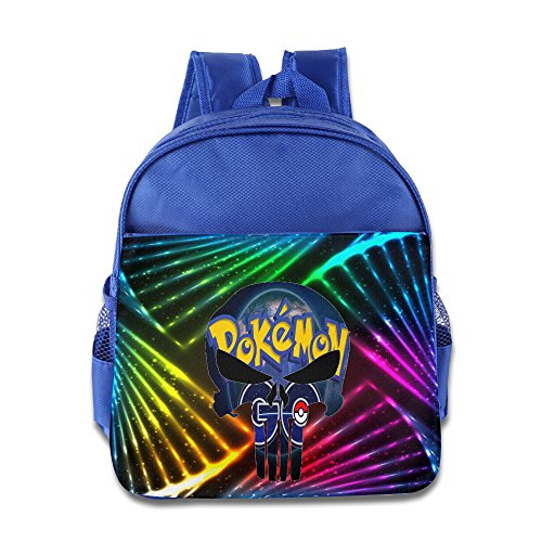 Discovery Wild Little Kid Backpack Bag, Poke Go - RoyalBlue