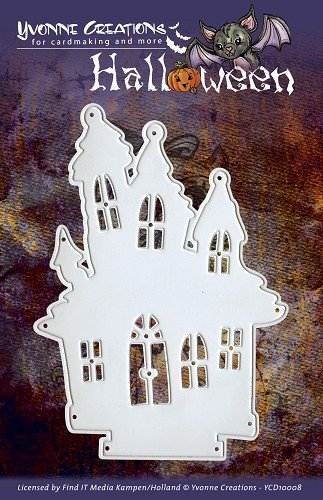 Find It Trading Haunted House Yvonne Creations Halloween Die