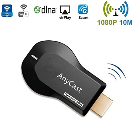 Farenow Cable Adaptador AV para Pantalla WiFi Dongle Wireless Mini Display Receiver 1080P HDMI Convertidor para conectar Samsung Galaxy S6/S7/S7 Edge Tablet a HD TV: Amazon.es: Deportes y aire libre