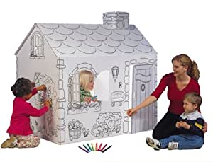 My Very Own House Coloring Playhouse- Cottage