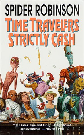 Book cover for Time Travelers Strictly Cash