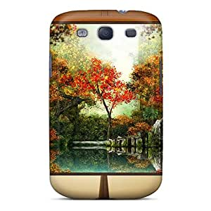 High Quality LittleLove Autumn 7 Skin Case Cover Specially Designed For Galaxy - S3