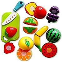 MTC Realistic Sliceable Fruits Cutting Toy for Kids