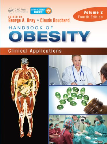 Download Handbook of Obesity – Volume 2: Clinical Applications, Fourth Edition (Bray, Handbook of Obesity) Pdf