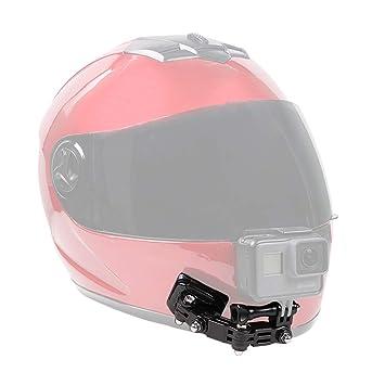 SUREWO soporte para casco de motocicleta y soportes adhesivos Compatible con GoPro Hero 7 6 5 Black, 4 Session, 4 Silver, 3 +: Amazon.es: Deportes y aire ...