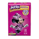 Pull-Ups Learning Designs Training Pants for Girls, 4T-5T, 40 Count (Packaging May Vary)