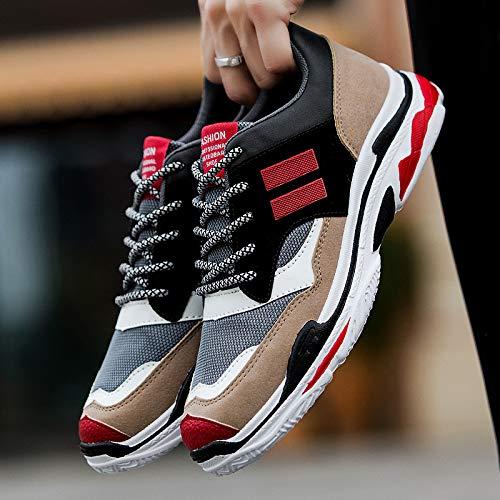 Outdoor Leisure Fashion NANXIEHO Leisure Men's Shoes Men Run Sport Flying Trend Weaving Shoes Spring w7SXr7q6
