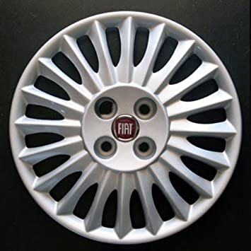 Set of 4 new wheel trims for Fiat Panda 2012 with original rims in 14 inches