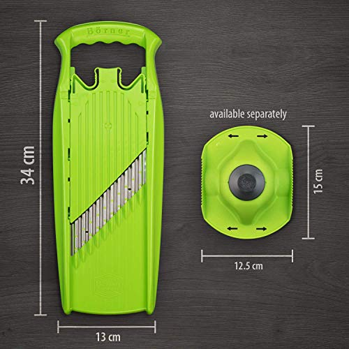 Borner Wave-Waffle Cutter Powerline - straight from the manufacturer (green)